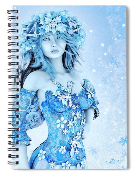For All Winter Friends Spiral Notebook