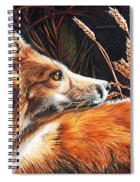For Fox Sake Spiral Notebook