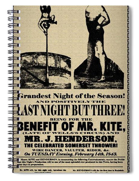 For The Benefit Of Mr Kite Spiral Notebook