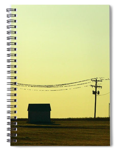 For The Birds Spiral Notebook