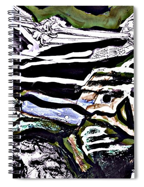 For Xenia-7 Spiral Notebook