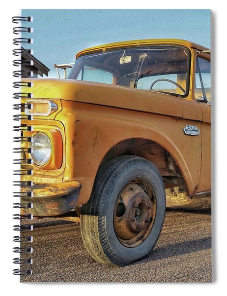 Ford F-150 Dump Truck Spiral Notebook