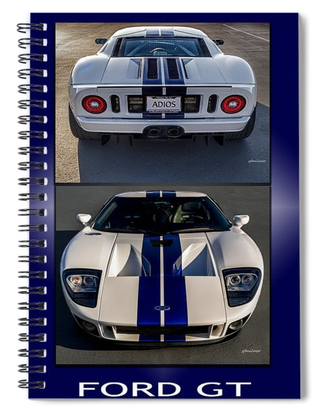 Ford Gt Spiral Notebook