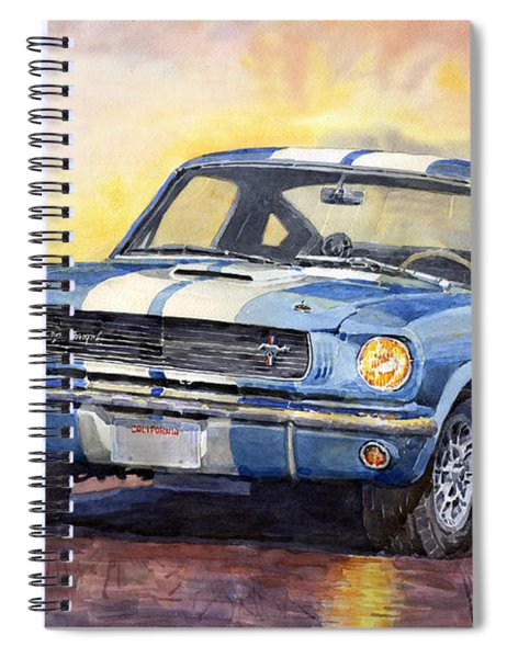 Ford Mustang Gt 350 1966 Spiral Notebook
