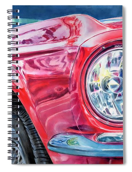 Ford Mustang Spiral Notebook