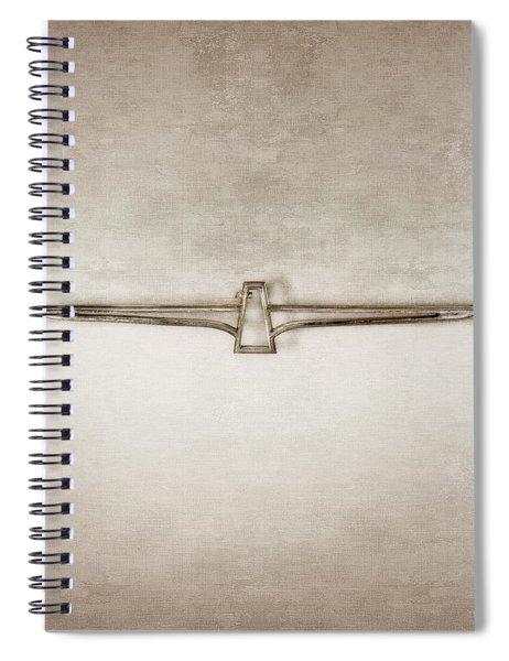 Ford Thunderbird Emblem Spiral Notebook