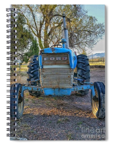 Ford Tractor Spiral Notebook