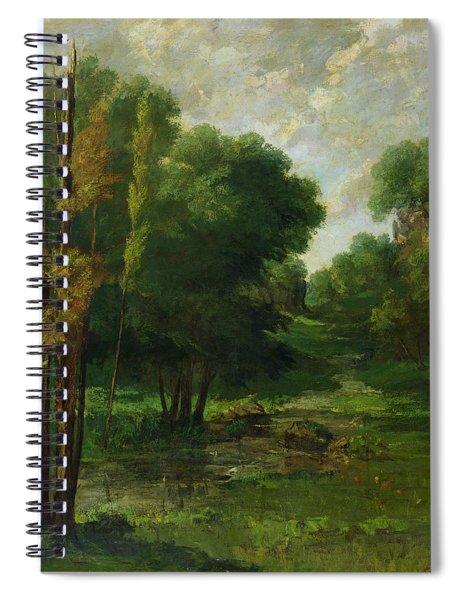 Forest Landscape Spiral Notebook