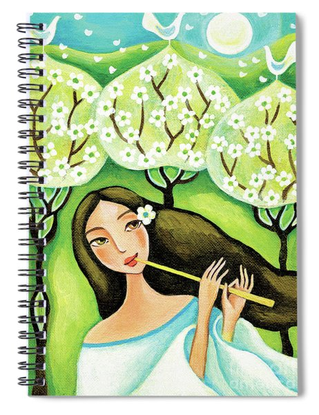 Forest Melody Spiral Notebook