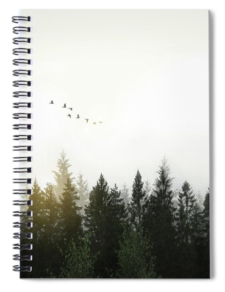 Forest Spiral Notebook