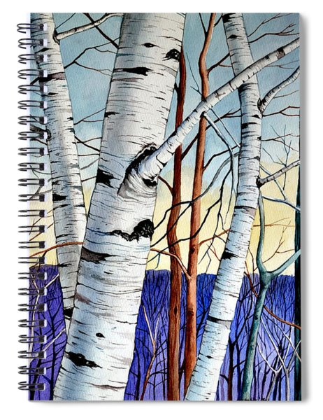 Forest Of Trees Spiral Notebook