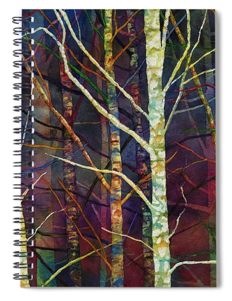 Forest Rhythm Spiral Notebook