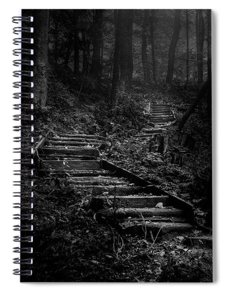 Forest Stairs Spiral Notebook