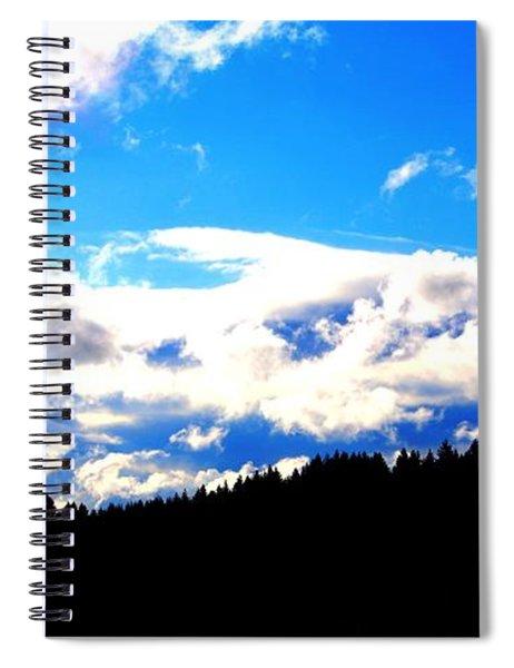 Forest Storm Spiral Notebook