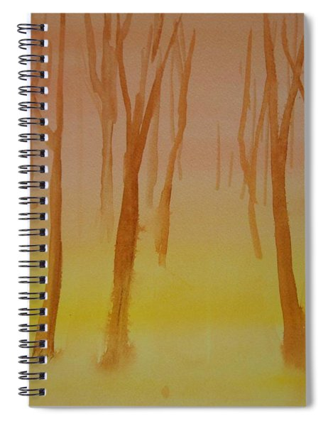 Forest Study Spiral Notebook