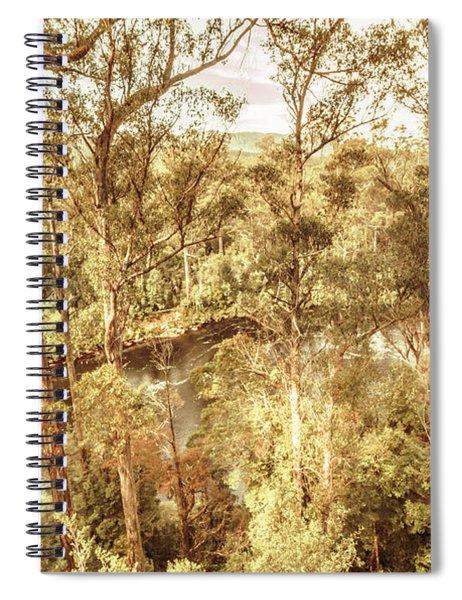 Forestry Calm Spiral Notebook