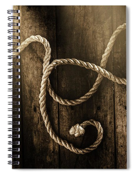 Forever A Sailor Spiral Notebook