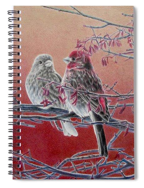 Forever Finch Spiral Notebook