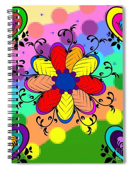 Forever Floral Spiral Notebook