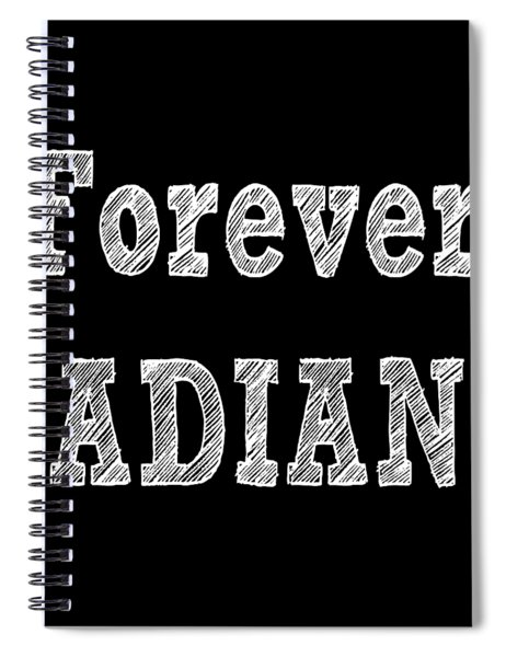 Forever Radiant Positive Self Love Quote Prints Beauty Quotes Spiral Notebook by Ai P Nilson