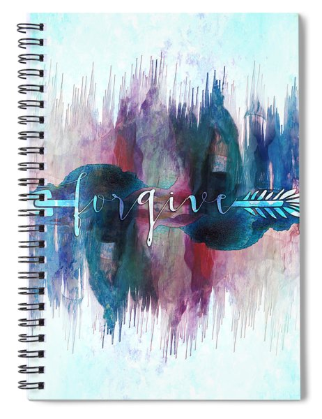 Forgive Arrow Spiral Notebook