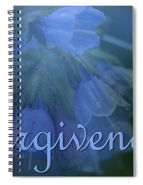 Forgiveness Blue Bells Spiral Notebook