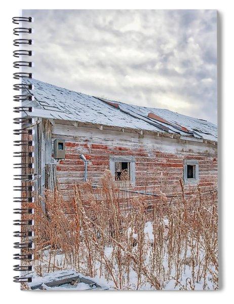 Forgotten Barn Spiral Notebook