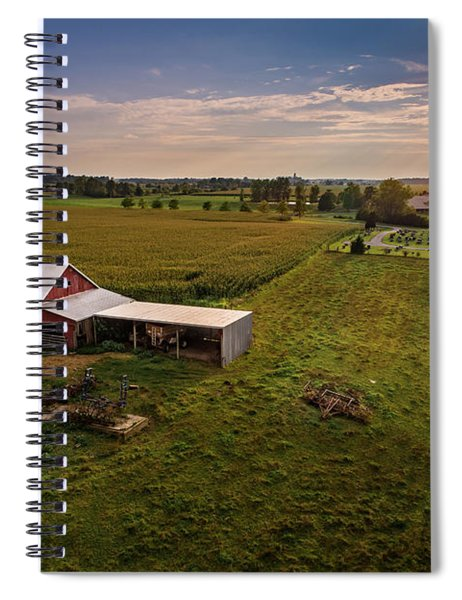 Forgotten Barn Spiral Notebook