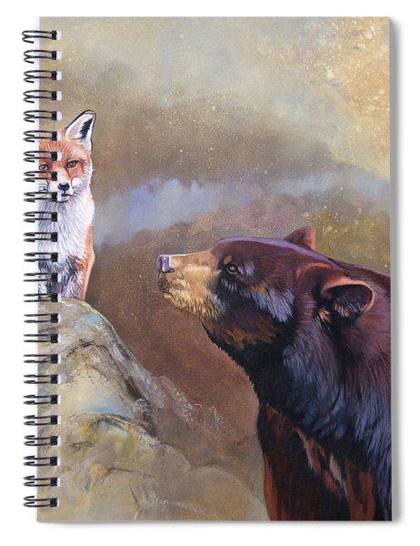 Forgotten Bear Tales Spiral Notebook