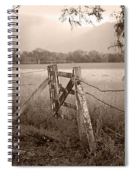 Forgotten Fields 2 Spiral Notebook