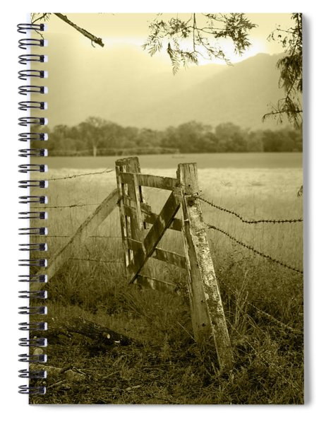 Forgotten Fields Spiral Notebook