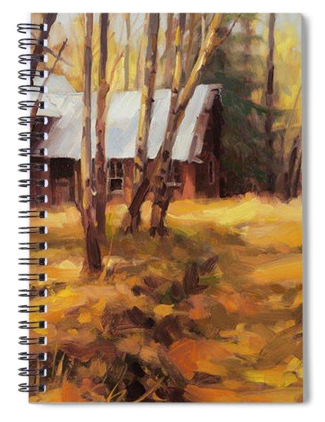 Forgotten Path Spiral Notebook