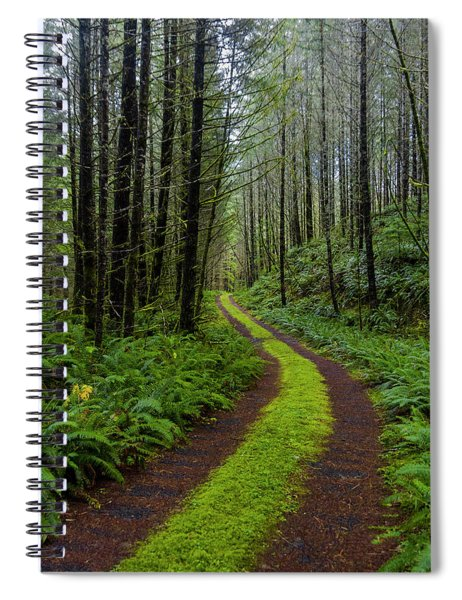 Forgotten Roads Spiral Notebook