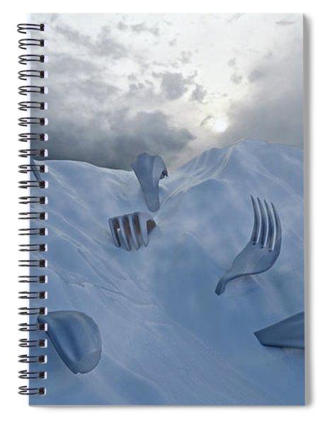 Forked Spiral Notebook