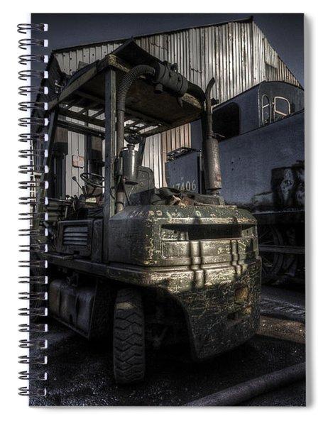 Forklift Spiral Notebook
