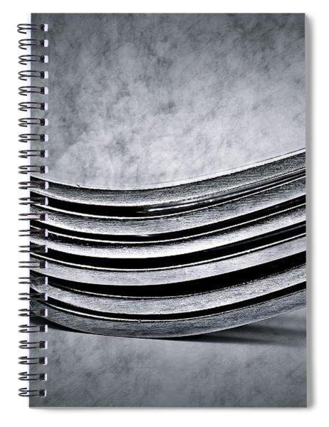 Forks - Antique Look Spiral Notebook