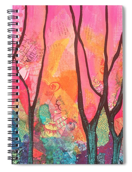Forrest Energy II Spiral Notebook