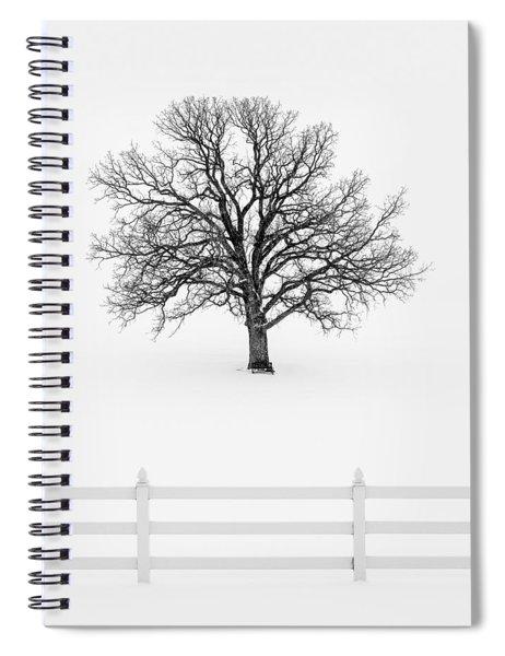 Forsaken Winter Spiral Notebook