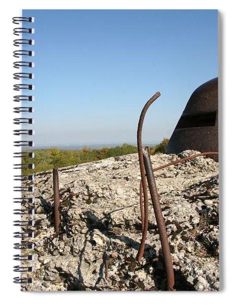 Fort De Douaumont - Verdun Spiral Notebook