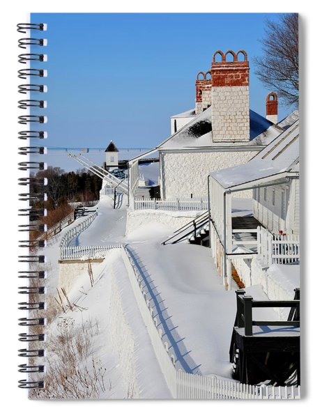 Fort Mackinac Profile Spiral Notebook