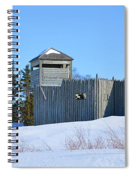Fort Michilimackinac Northeast Blockhouse Spiral Notebook