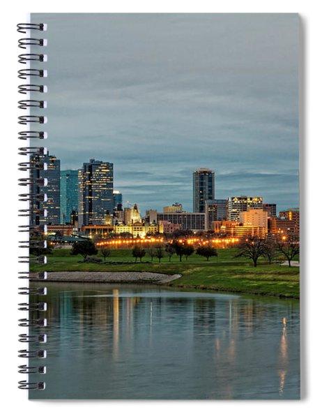 Fort Worth Color Spiral Notebook