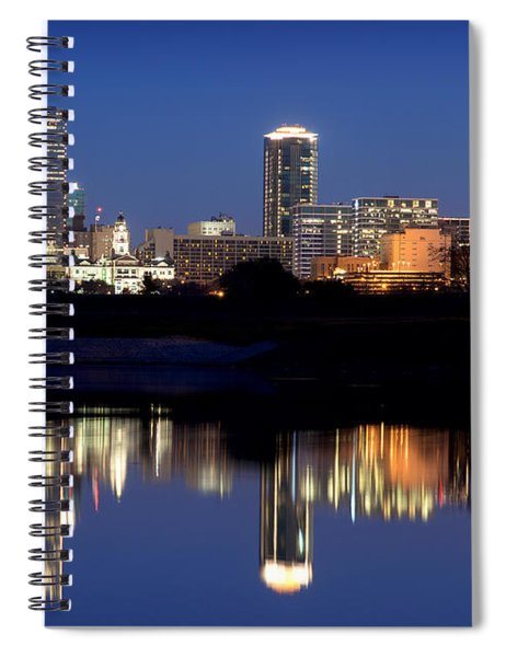 Fort Worth Reflection 41916 Spiral Notebook