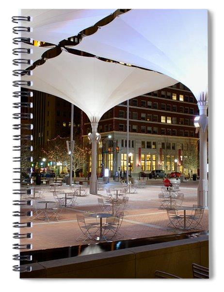 Fort Worth Sundance Square Spiral Notebook