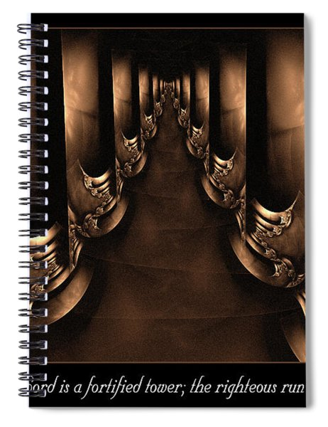 Fortified Tower Spiral Notebook