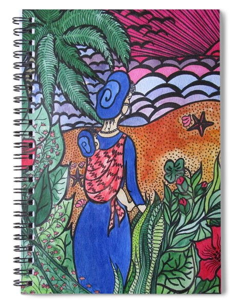 Fortune ....happiness Spiral Notebook
