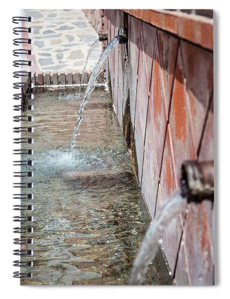 Fountain Spiral Notebook