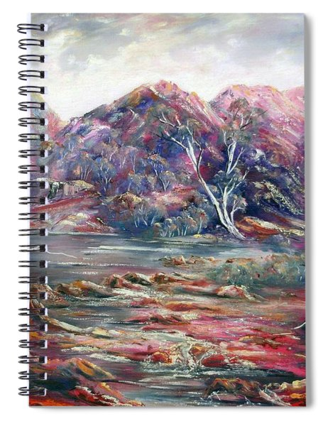 Fountain Springs Outback Australia Spiral Notebook