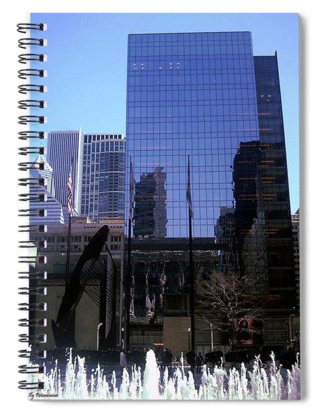 Fountain View Spiral Notebook