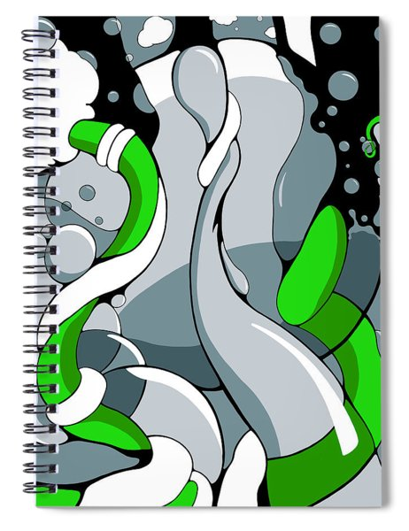 Fountainhead Spiral Notebook